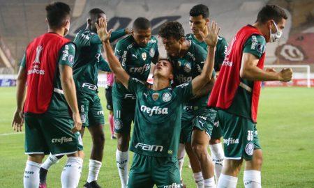 Renan do Palmeiras Libertadores 2021