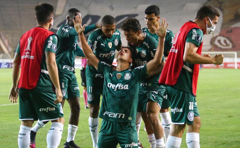 Renan do Palmeiras Libertadores 2021 26042021