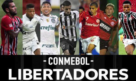 SPFC, Santos, Palmeiras, CAM, Inter, Fla, Flu, Libertadores 2021