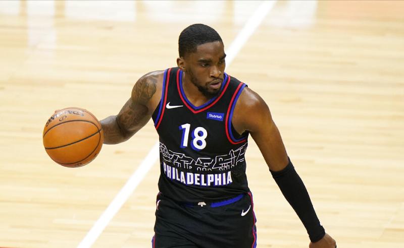Shake Milton Philadelphia 76ers NBA 26042021