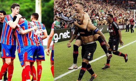 Time do Bahia e Time do Athletico-PR estreiam na Sul-Americana
