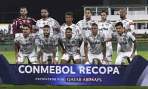 Time do Palmeiras na Final da Recopa Sul-Americana