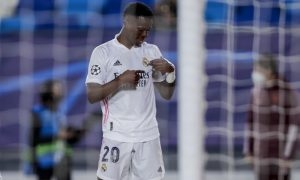 Vinicius Junior do Real Madrid Champions League 2020/2021