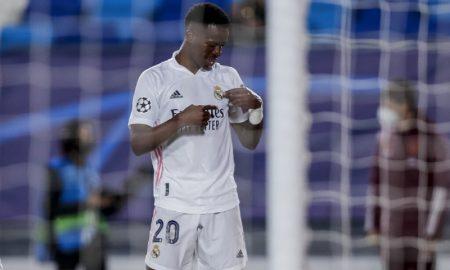 Vinicius Junior do Real Madrid Champions League 2020/2021