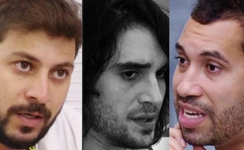 Caio, Fiuk e Gilberto BBB21 19 de Abril 2021