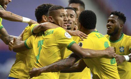 Brasil 3 x 0 Venezuela na Copa América