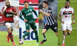 Candidatos a craques do Brasileirão