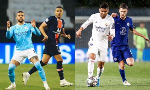 Champions City x PSG e Chelsea x Real 03052021