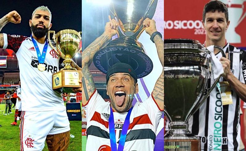 Festa dos campeões estaduais de 2021