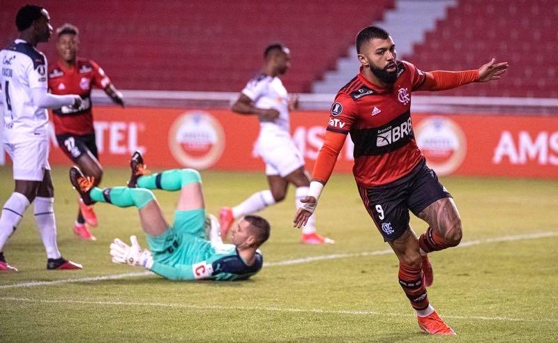 Flamengo na Copa Libertadores 2021