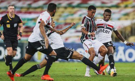 Fluminense 1 x 2 São Paulo, em 2020