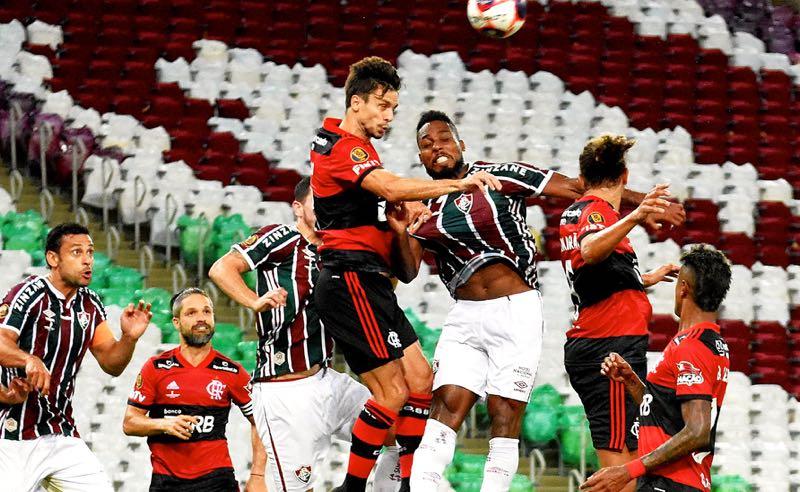 Fluminense x Flamengo no Carioca 2021