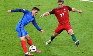 França x Portugal na final da Euro 2016; equipes se reencontram na Eurocopa 2021