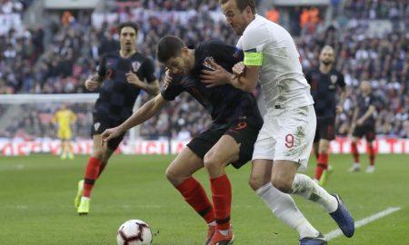 Inglaterra x Croácia na Liga das Nações, em 2018