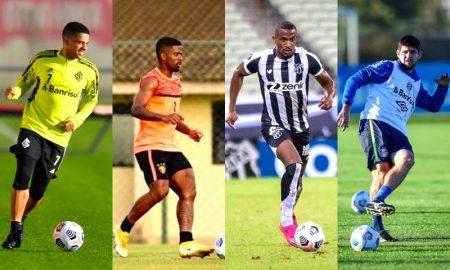 Internacional x Sport, Ceará x Grêmio