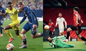 Jogos de ida das semifinais da Liga Europa