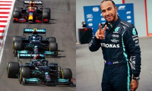 Lewis Hamilton no GP de Portugal 2021