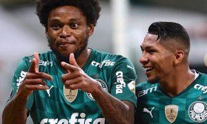 Luiz Adriano e Rony, do Palmeiras 03052021