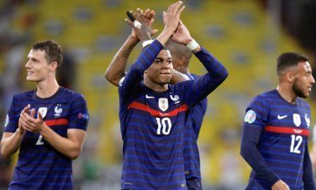 Mbappé depois de França 1 x 0 Alemanha