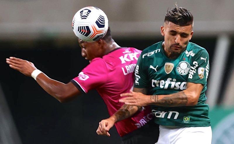 Palmeiras x Del Valle na Libertadores