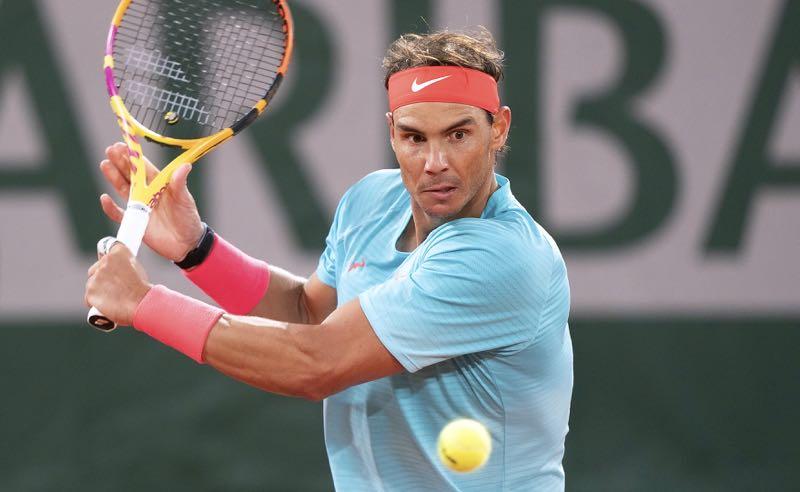 Rafael Nadal em Roland Garros 2020