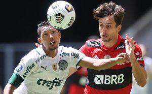 Rony x Rodrigo Caio na Supercopa 2021
