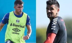 Treinos do Grêmio e do Athletico-PR para a Sul-Americana 2021