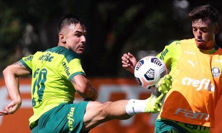 Willian e Gabriel Menino, do Palmeiras