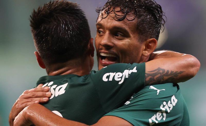 Willian e Gustavo Scarpa, do Palmeiras