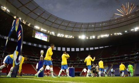 A seleção brasileira na Copa América