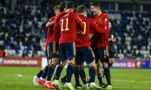 A seleção espanhola rumo à Eurocopa