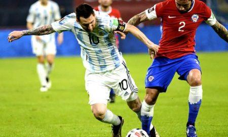 Argentina x Chile nas Eliminatórias