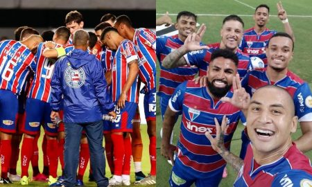Bahia e Fortaleza na temporada 2021