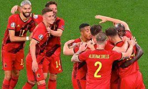 Bélgica 3 x 0 Rússia na Eurocopa 2021