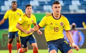 Borré, da Colômbia, na Copa América