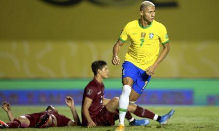 Brasil x Venezuela nas Eliminatórias