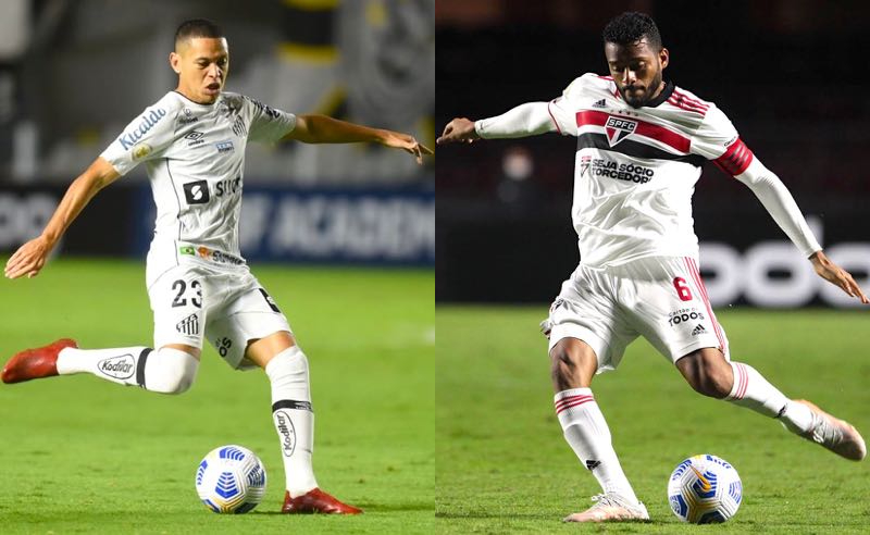Brasileirão 2021: Santos, de Marcos Guilherme, recebe o São Paulo, de Reinaldo, no clássico do fim de semana
