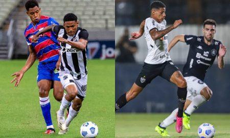 Ceará x Fortaleza e Atlético-MG x Remo