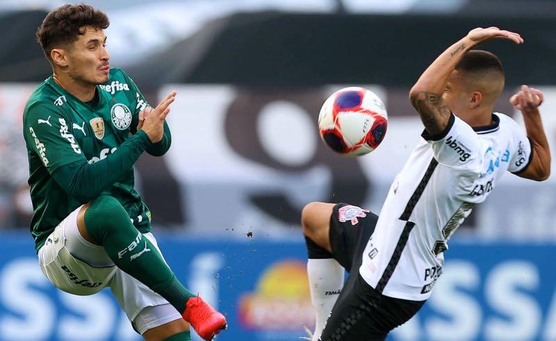 Corinthians x Palmeiras no Paulistão