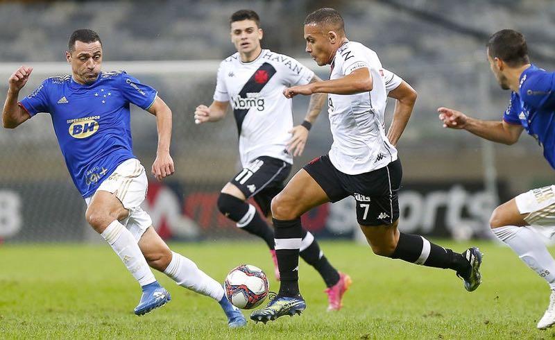 Cruzeiro x Vasco no Mineirão pela Série B do Brasileirão 2021