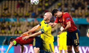 Espanha 0 x 0 Suécia na Eurocopa 2021