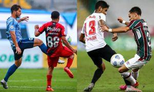 Grêmio x Athletico, Bragantino x Fluminense