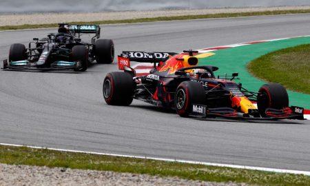 Hamilton x Verstappen no GP da Espanha