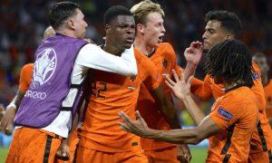 Holanda 3 x 2 Ucrânia na Eurocopa 2021