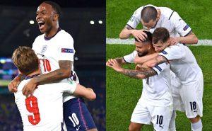 Inglaterra e Itália, seleções favoritas ao título da Eurocopa 2021