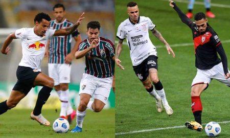Copa do Brasil: Fluminense x Bragantino e Corinthians x Atlético-GO