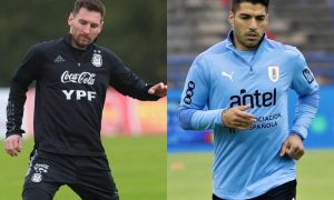 Messi x Suárez na Copa América 2021