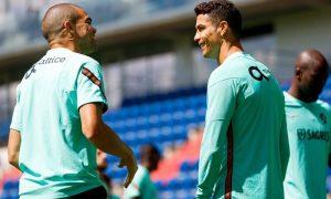 Pepe e Cristiano Ronaldo, de Portugal 1462021