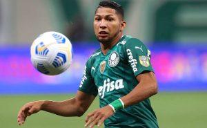 Rony, do Palmeiras, em jogo contra o Bahia pelo Brasileirão 2021