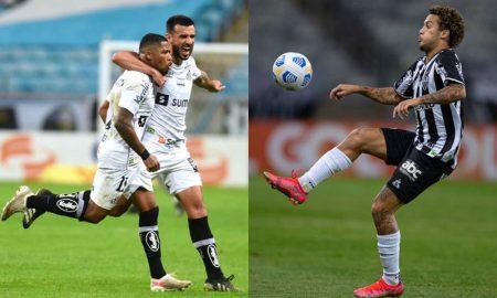 Lances dos jogos do Santos e do Atlético-MG na sexta rodada do Brasileirão 2021